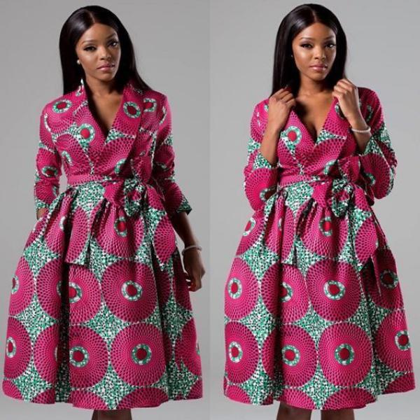 mode africaine femme 2019 jupe et jacket