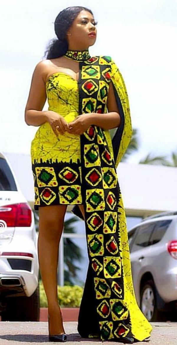 mode africaine femme 2019 partie courte