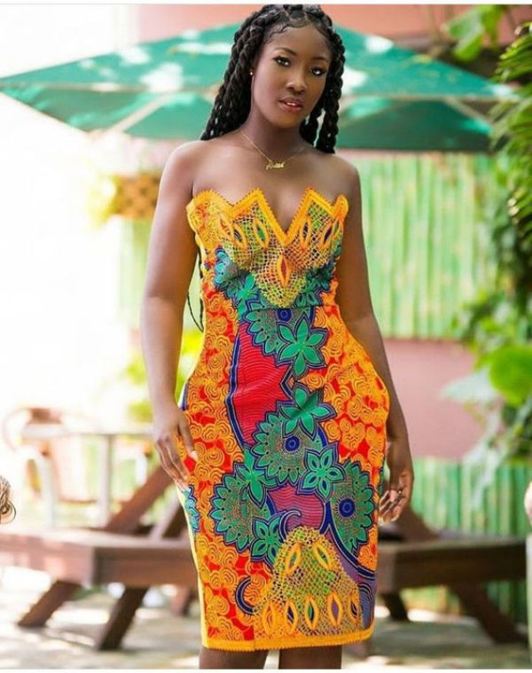 mode africaine femme 2019 robe d'été