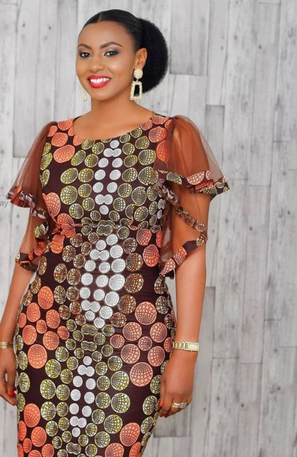 mode africaine femme 2019 tons pastel