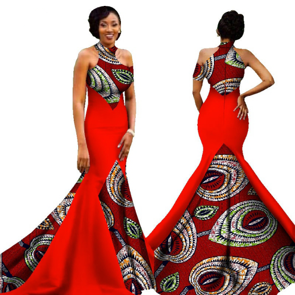 mode africaine femme 2019 une robe de soirée