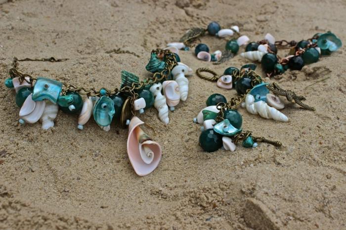 mode bijoux coquillage