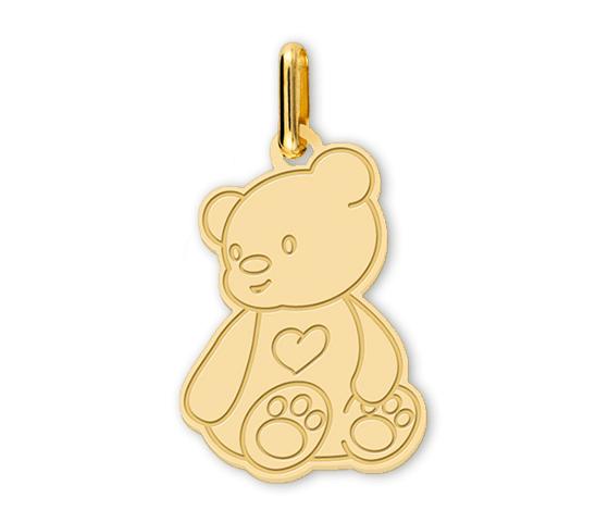 pendentif personnalisé enfant petit ours