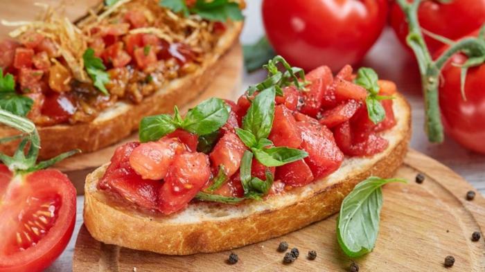 préparation facile recette bruschetta à l'italienne