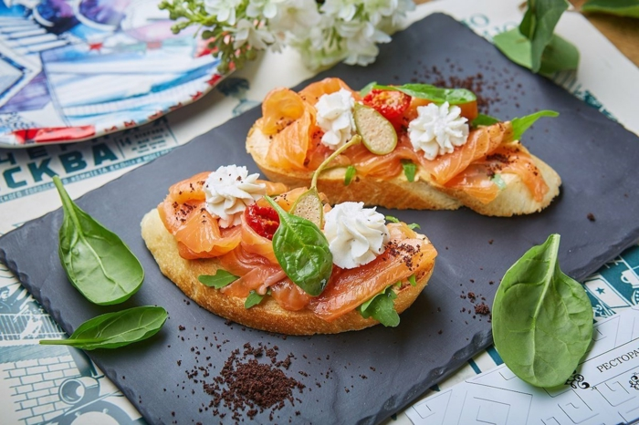 recette bruschetta au saumon
