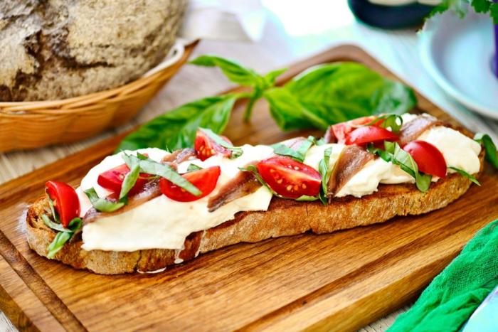 recette bruschetta aux anchois