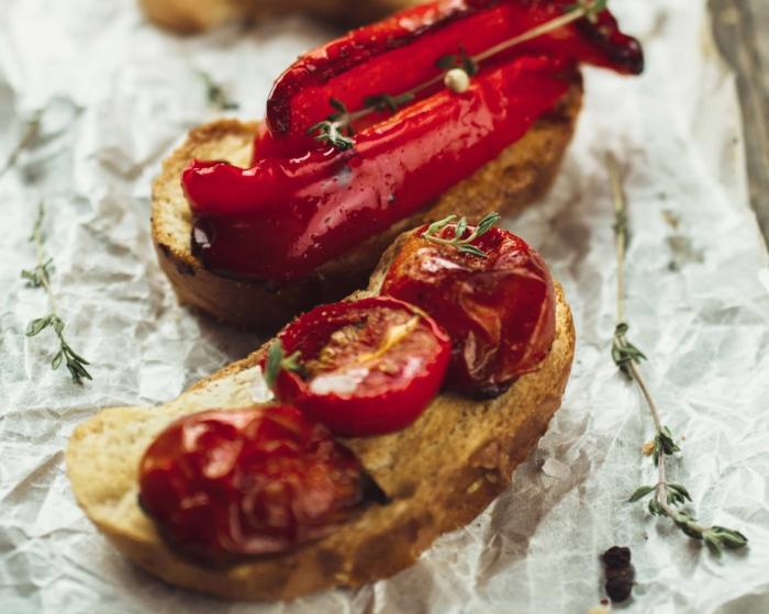 recette bruschetta aux légumes grillés