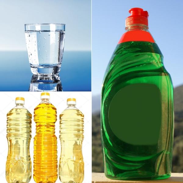 recette bulles de savon eau produit de vaisselle huile végétale