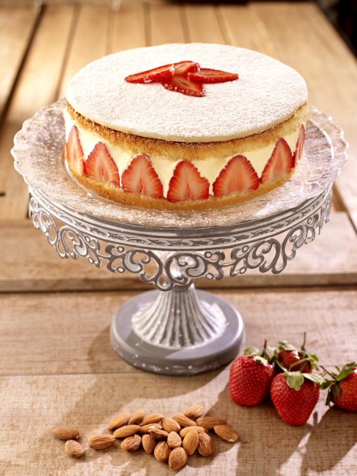 recette fraisier gâteau printemps