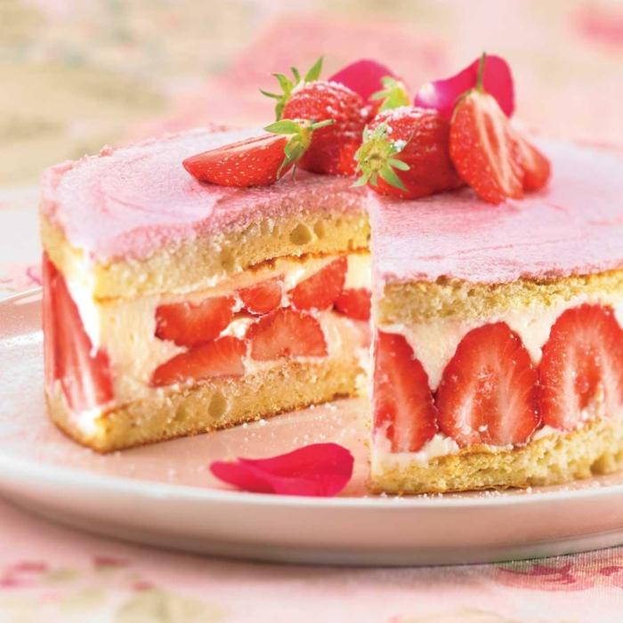 recette fraisier idée dessert estival