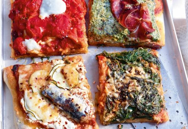 recette pesto rosso pizza quatre garnitures au pesto rosso