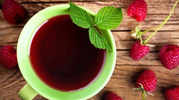tisane feuille de framboisier vitamines minérals antioxydants