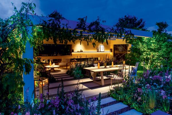 éclairage de jardin terrasse et jardin