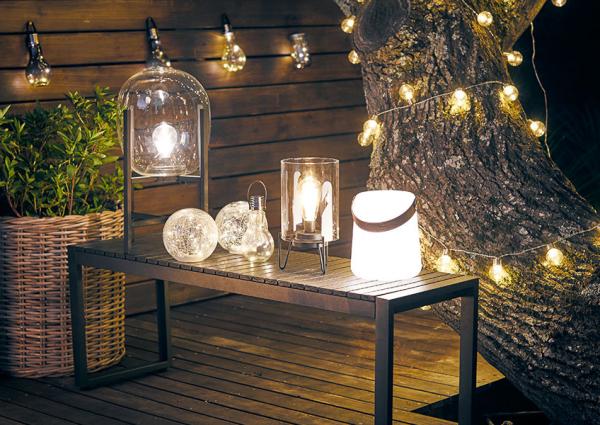 éclairage de jardin toutes sortes de lampadaires