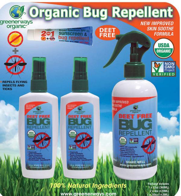 éloigner les moustiques répulsifs organiques