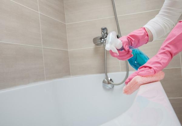Eau oxygénée 20 utilisations dans la maison et le jardin nettoyer la baignoire