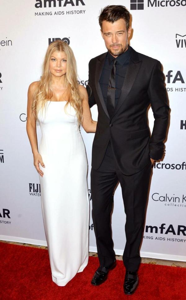 Fergie Josh Duhamel amfAR Gala