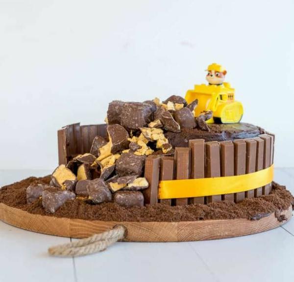 Gâteau Pat Patrouille - recettes et 50 idées de design gâteau au chocolat