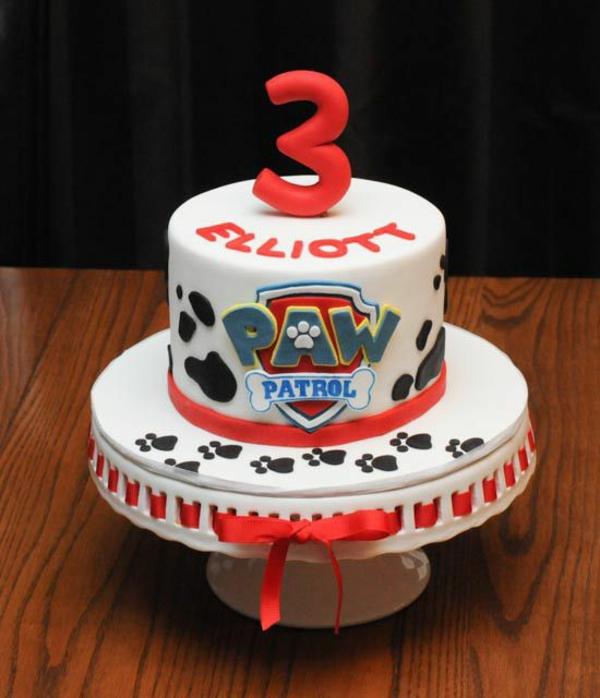 Gâteau Pat Patrouille - recettes et 50 idées de design gâteau au glaçage pour garçon 3 ans