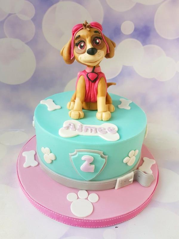 Gâteau Pat Patrouille - recettes et 50 idées de design gâteau d'anniversaire pour fille 2 ans