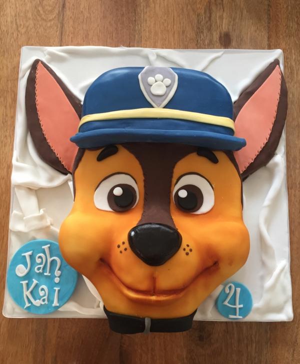 Gâteau Pat Patrouille - recettes et 50 idées de design paw patrol chase gâteau 3d
