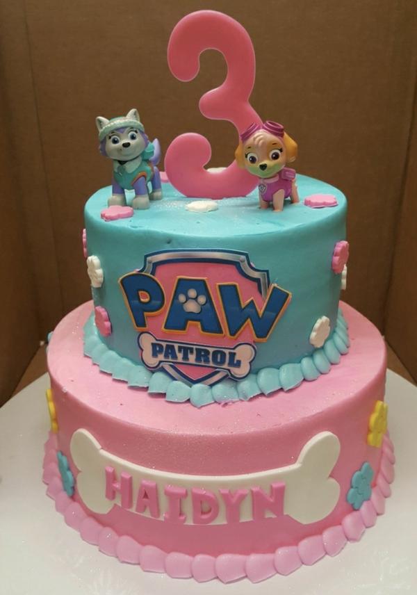 Gâteau Pat Patrouille - recettes et 50 idées de design stella paw patrol gateau anniversaire fille