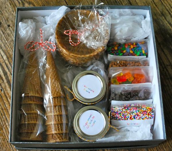 Idée cadeau maîtresse pour dire merci à la fin de l'année scolaire boîte gourmande