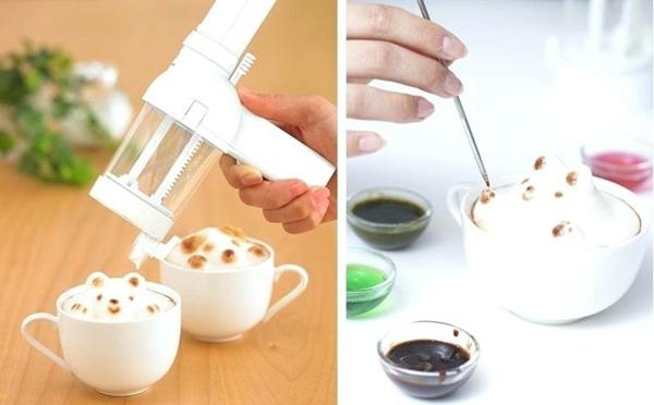 Idée cadeau maîtresse pour dire merci à la fin de l'année scolaire machine à latte 3d