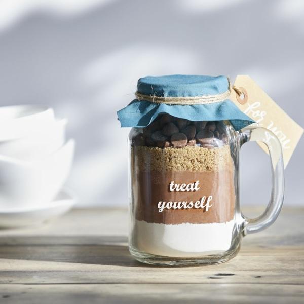 Idée cadeau maîtresse pour dire merci à la fin de l'année scolaire mix brownie