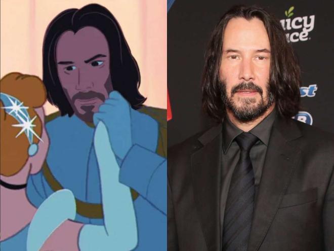 Keanu Reeves dans les BD