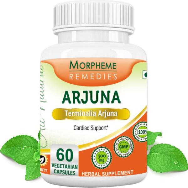 Terminalia arjuna capsules végétariennes