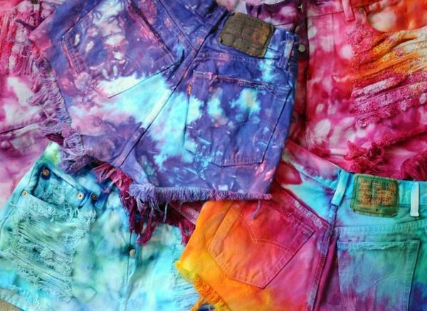 Utiliser les pigments dans vos projets DIY colorer des vêtements