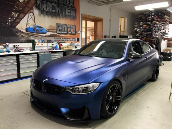 Wrapping voiture avantages et 50 idées déco à copier BMW-F82-M4