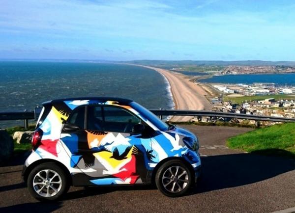 Wrapping voiture avantages et 50 idées déco à copier mini-voiture