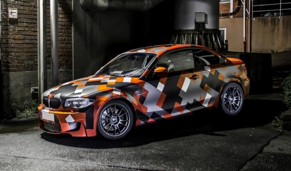 Wrapping voiture avantages et 50 idées déco à copier motifs géométriques