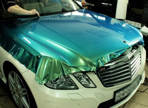 Wrapping voiture avantages et 50 idées déco à copier pose de film vinyle