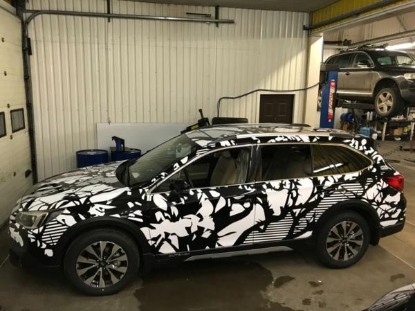 Wrapping voiture avantages et 50 idées déco à copier subaru