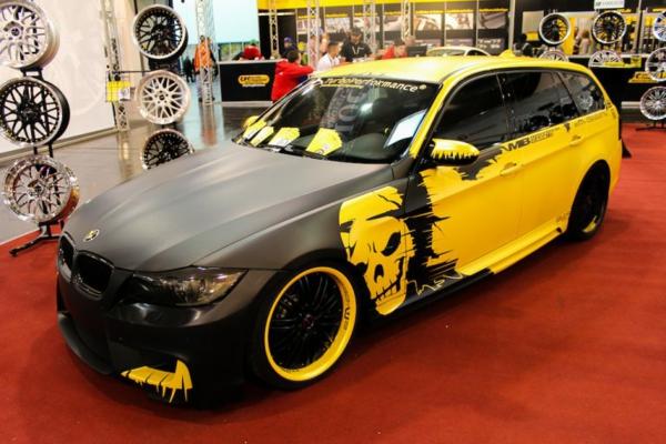 Wrapping voiture avantages et 50 idées déco à copier tête de mort deux couleurs