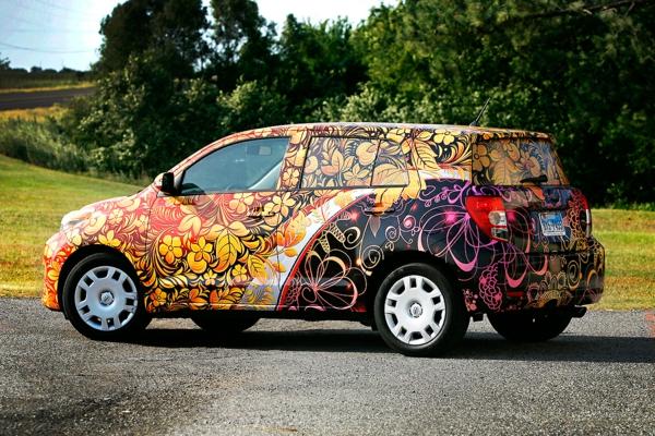 Wrapping voiture avantages et 50 idées déco à copier toyota bb