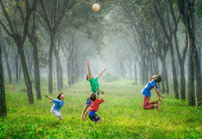 aire de jeux occuper les enfants