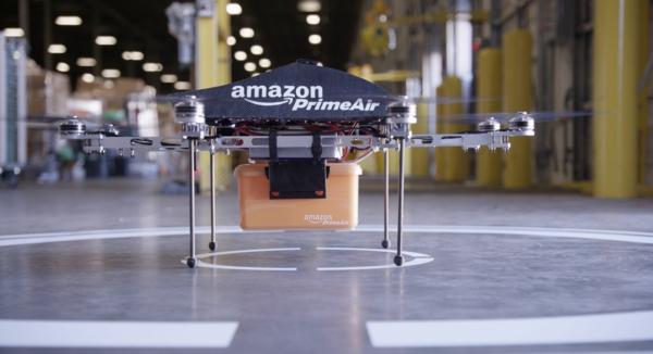 amazon drones prime air amazon