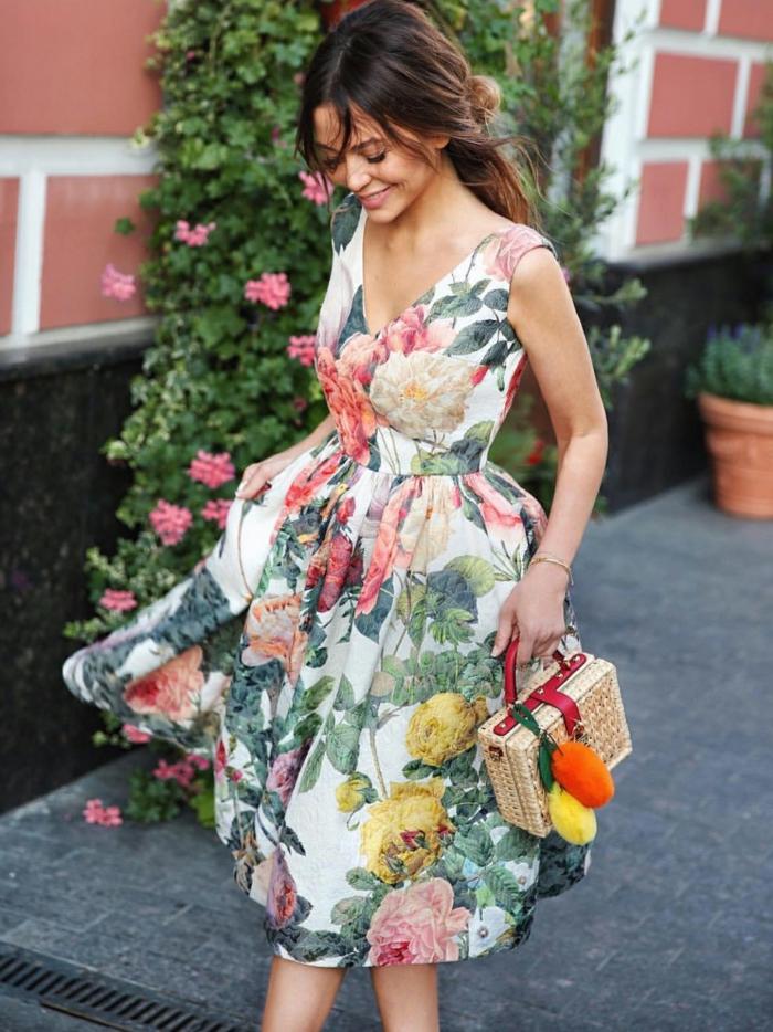 belle robe estivale florale 2019