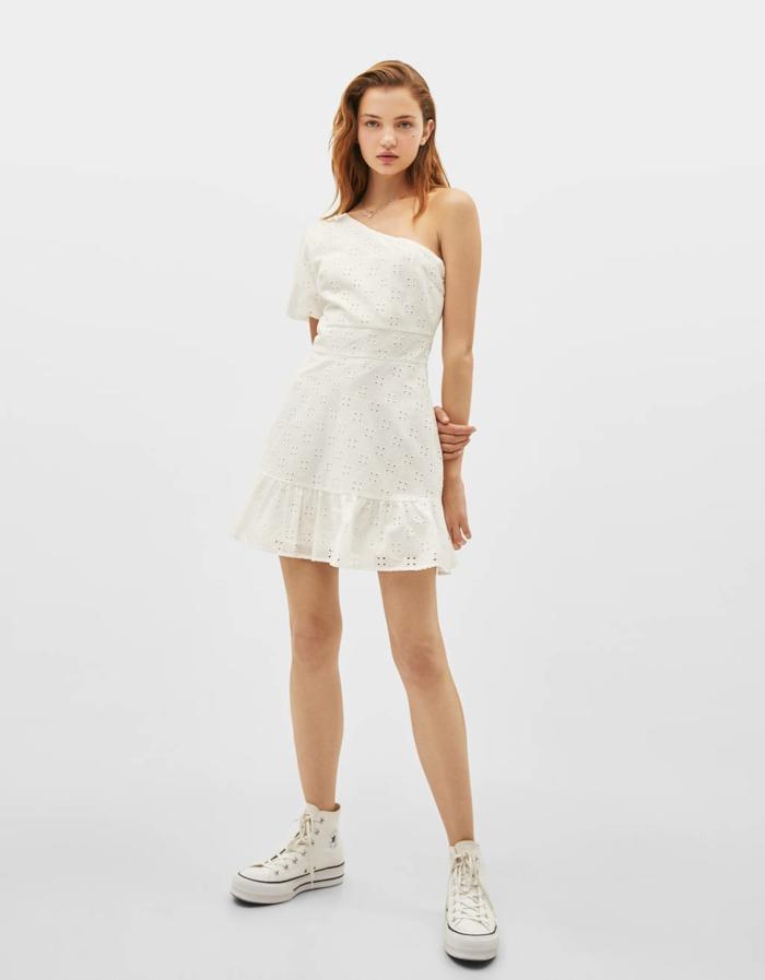 broderie anglaise idée de robe estivale