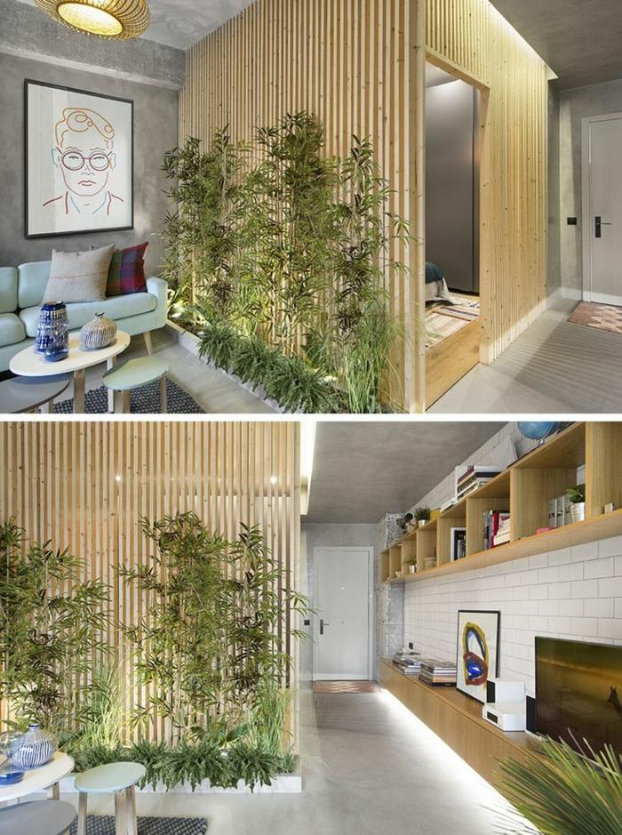 claustra design végétalisé