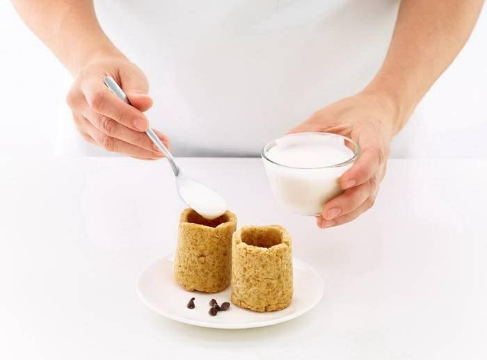 dessert original vaisselle comestible