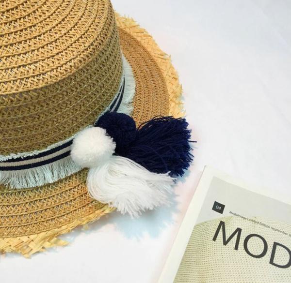 diy chapeau de paille personnalisé style bohème
