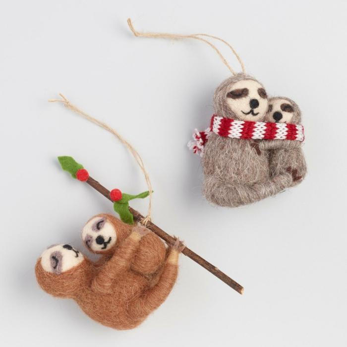 jouets chambre enfant décoration avec le paresseux