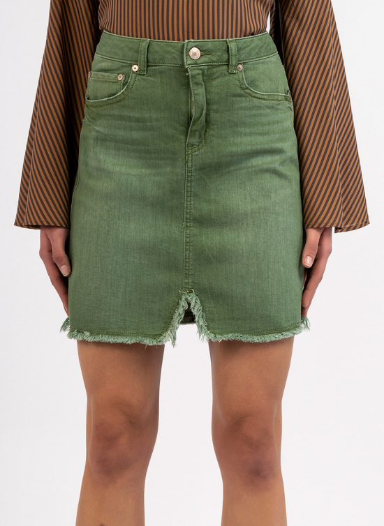 jupe en jean courte coupe crayon