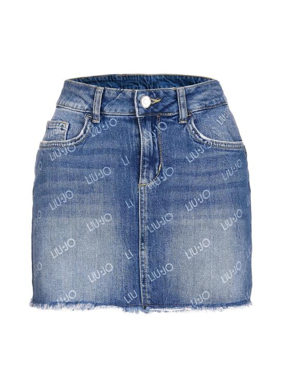 jupe en jean courte jupe droite
