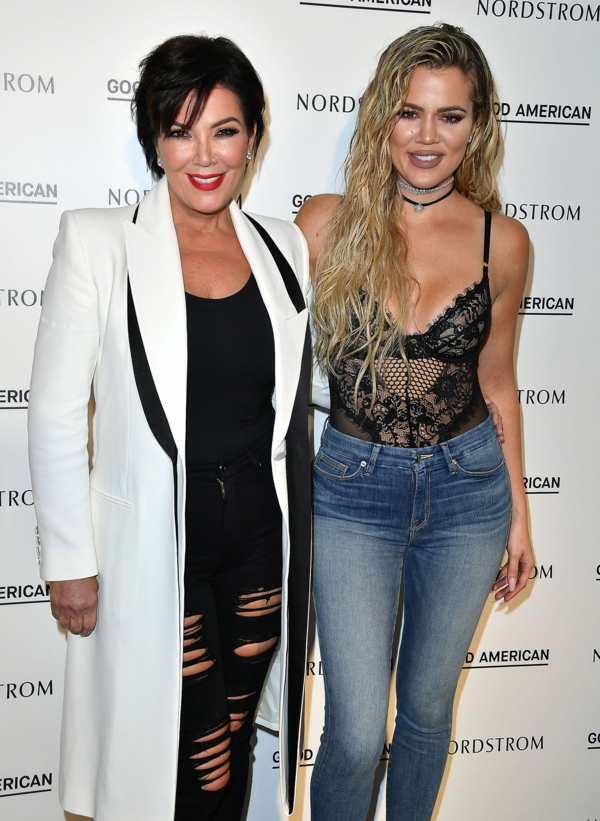 khloe kardashian et sa mère chris jenner